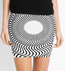 EYE 1 (BLACK) Minifalda