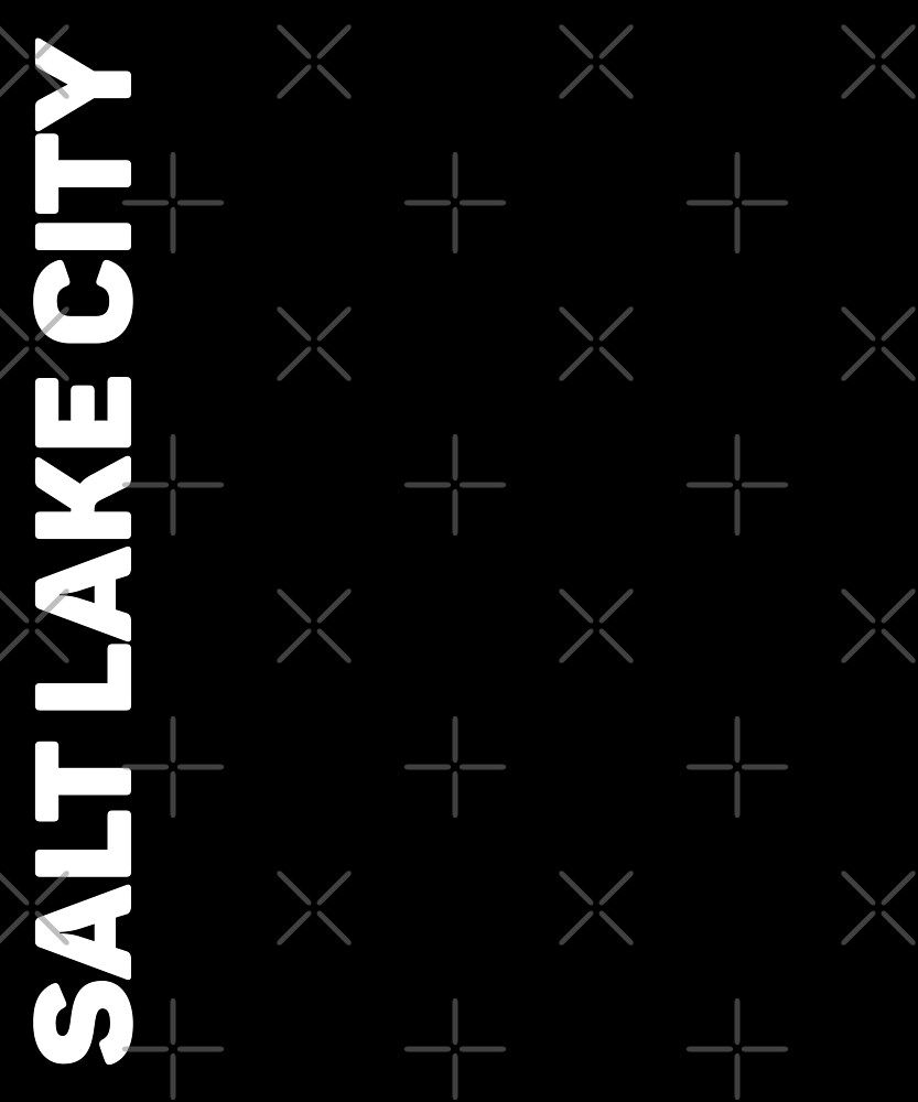 Salt Lake City T-Shirt by designkitsch