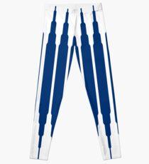 SQUARE LINE (BLUE) Legging