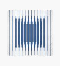 SQUARE LINE (BLUE) Pañuelo