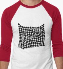 COME INSIDE (BLACK) Camiseta ¾ estilo béisbol