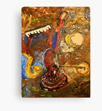 Music Stage Canvas Print
