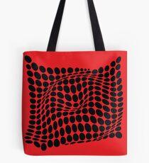 COME INSIDE (RED/BLACK) Bolsa de tela