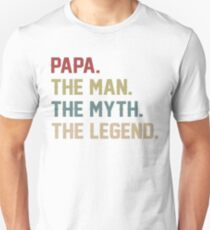 Der Mann Mythos Legende Papa Slim Fit T-Shirt