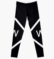 black why dont logo -  Leggings
