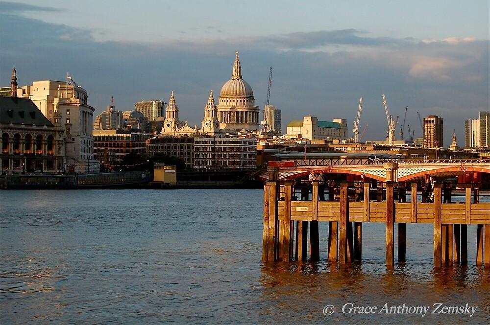 London Glow by Grace Anthony Zemsky
