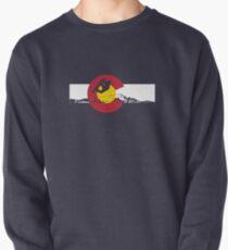 Snowboarder - Colorado Flag Sweatshirt