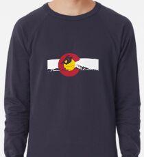 Snowboarder - Colorado Flag Lightweight Sweatshirt