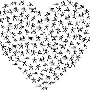 Sporting Heart by MUZA9