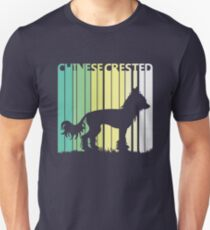 Cute Chinese Crested Silhouette Unisex T-Shirt