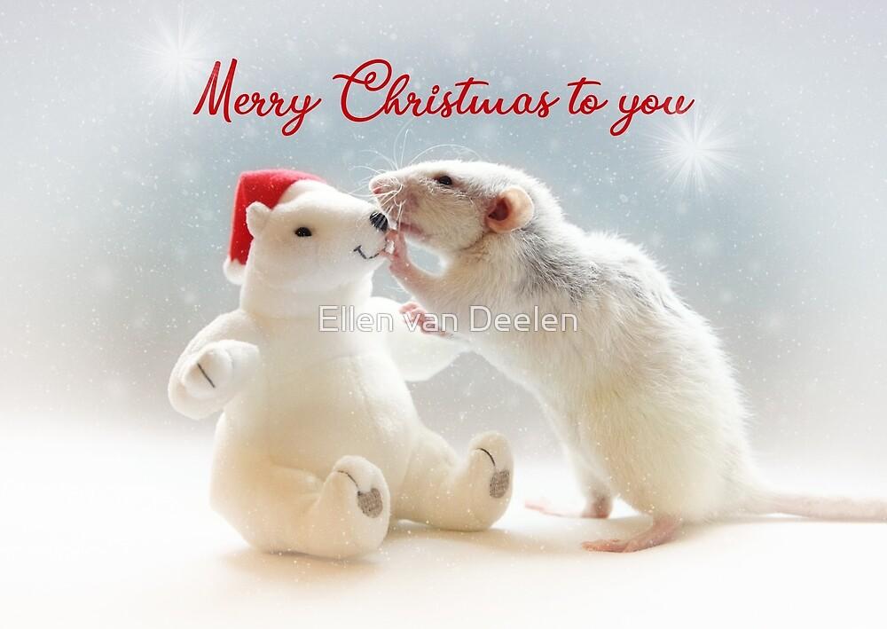 Merry Christmas to you! by Ellen van Deelen