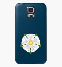 White Rose of York Case/Skin for Samsung Galaxy
