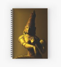 Bronze Spiral Notebook