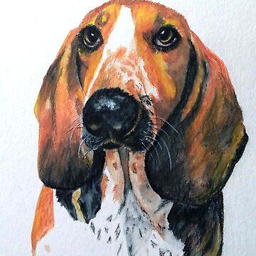 Basset Hound by Croftsie