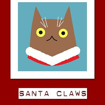Santa Claws by bubbliciousart