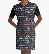 Code It Graphic T-Shirt Dress