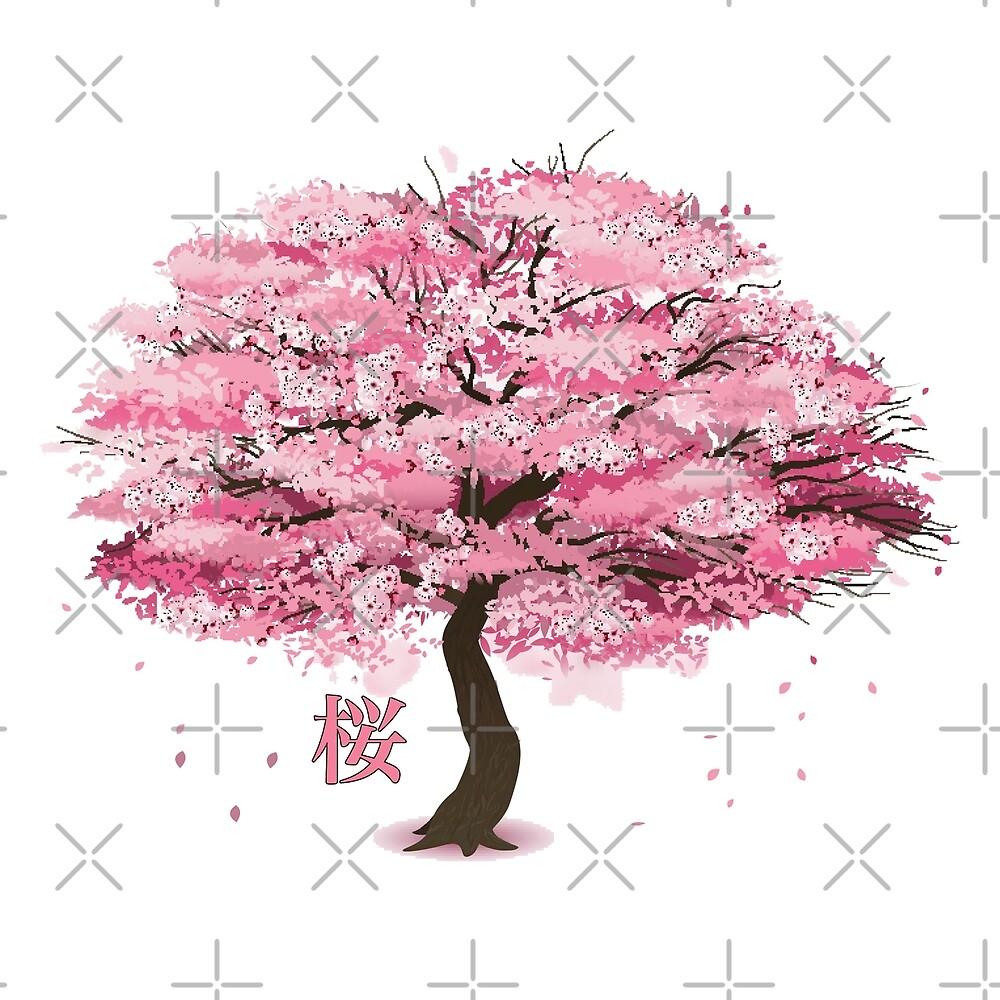 Sakura Tree by Woreth