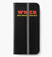 What would Zaphod do? iPhone Wallet/Case/Skin