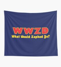 What would Zaphod do? Wall Tapestry