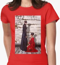 Mystical Fashion  Girls Fine Art Print Womens Fitted T-Shirt