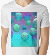Ocean Dreams Aqua - Dare to Follow Your Passion V-Neck T-Shirt