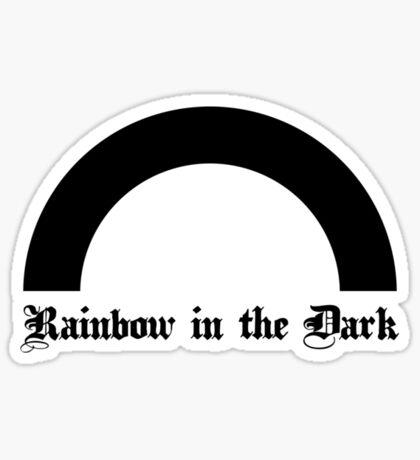 Rainbow in the Dark. Sticker