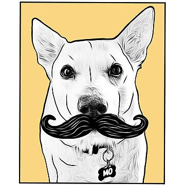 Woof Mo (Movember) by JasonLloyd