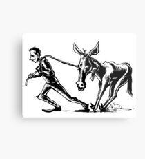 Draggin' Ass Metal Print