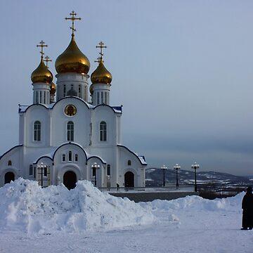 The Road to the Cathedral. Kamchatka by IgorPozdnyakov
