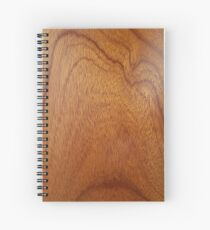 I Feel Woody, Oh So Woody!! (Wood Grain #1) - Man Cave Spiral Notebook