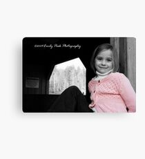 Sweet Abby Canvas Print