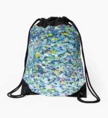 Leo Dotted Pillow Drawstring Bag