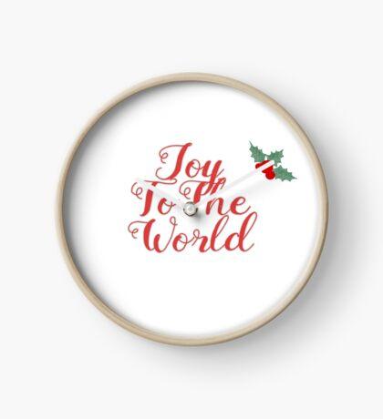 Joy to The World Clock