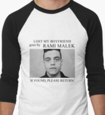 Lost my boyfriend Rami Malek Men's Baseball ¾ T-Shirt