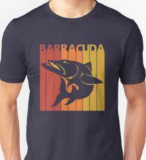 Vintage Retro Barracuda Fish Unisex T-Shirt