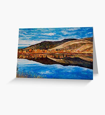 Wonderland Lake, Boulder Colorado Greeting Card