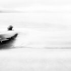 The Boat at Lake Annecy by Imi Koetz