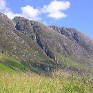 A Mountain In Glen Coe by lezvee