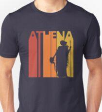 Vintage Retro Greek Goddess Athena Unisex T-Shirt