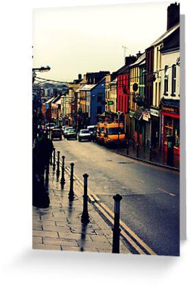 Street in Cork City by kirsten116