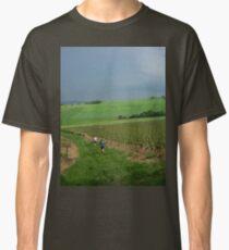 a vast France landscape Classic T-Shirt