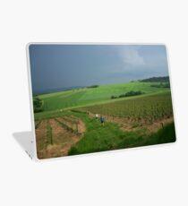 a vast France landscape Laptop Skin