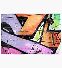 Baltimore Graffiti Close Up Poster