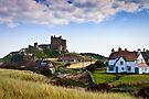 Bamburgh Castle by David Lewins