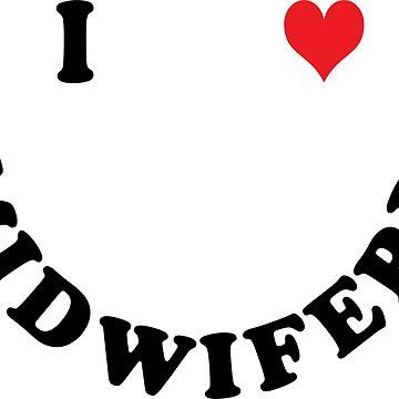 I love midwifery by Vectorqueen