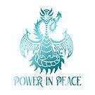 Peace Dragon - Power in Peace by jitterfly