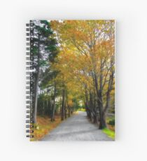 Fall in Point Pleasant Park Spiral Notebook