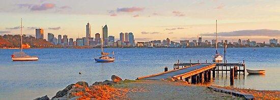 Pelican Point - Perth Western Australia   by EOS20