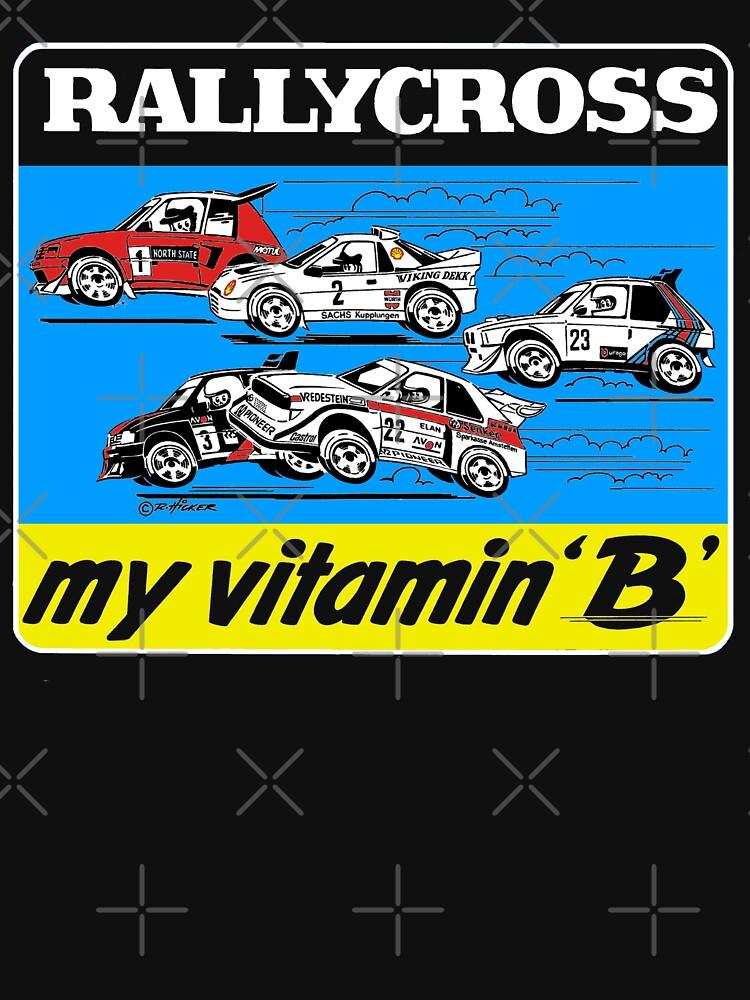 Rallycross my vitamin B by purpletwinturbo