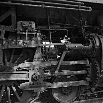 Drive Wheels Heavy 4-6-2 by woodeye518